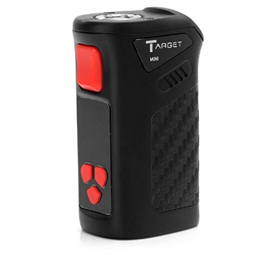 Vaporesso Target Mini Box Mod 40 W mit integriertem Akku 1400 mAh, Temperaturregelung 0,1 bis 1 Ohm, Anschluss 510 (schwarz)