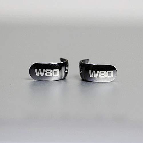 Woodhifi W80 フェースプレート イヤホン 金属 修理用 w80 new w80 w60 new w40 に対応 ネジが付属