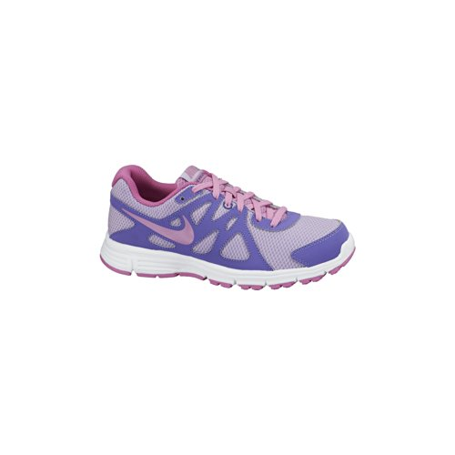Nike Revolution 2 GS, Zapatillas niña, Blanco/Morado/Rosa, 37.5