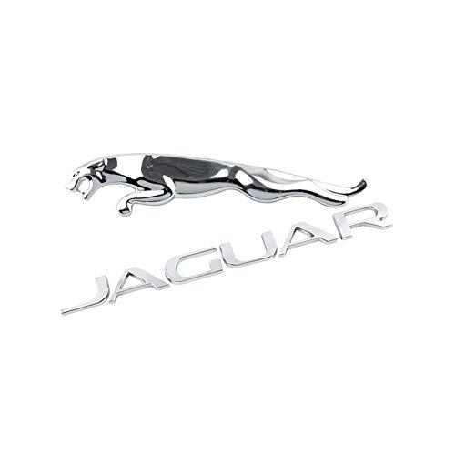 AUTOS Auto-hintere Heckklappen-Aufkleber Auto-Logo Dekoration Auto-Emblem-Abziehbilder Abzeichen Etikettieren, Autozubehör für Jaguar XF XE FPACE