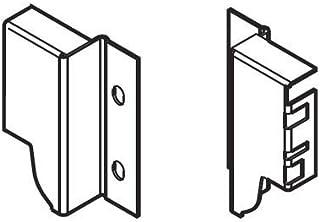 Blum Inc. Z30M000S.04GR Tandembox Plus Blumotion M Height Wrap-Around Sink Drawer Rear Fixing Bracket Set, Gray
