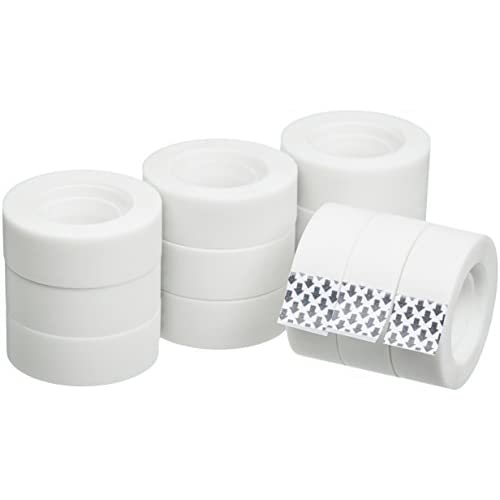 AmazonBasics - Nastro adesivo per ufficio, 12 rotoli