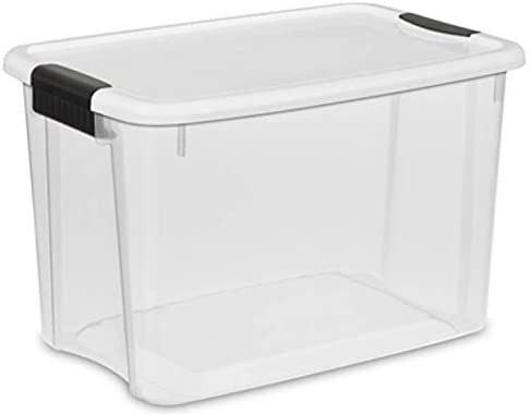 Sterilite 30 Quart Ultra All items in the store Clear Stackable Tote Storage Co Plastic Our shop most popular