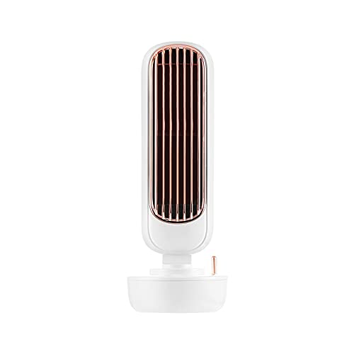 Yunyan Mini enfriador de aire pequeño ventilador multifuncional humidificador retro USB pequeño ventilador eléctrico
