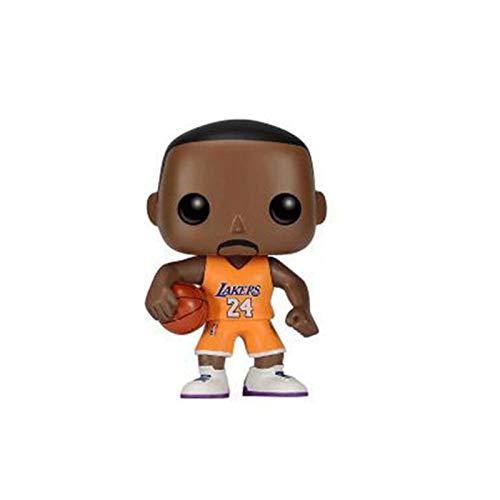 Funko NBA Figure Kobe Bryant #24 LA Home Cour't Chibi PVC Q Version Vinyl 10cm for Boy