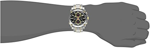 Bulova Men's 98B228 Precisionist Analog Display Japanese Quartz Two Tone Watch