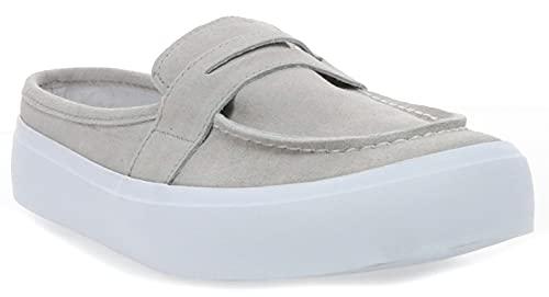 Chooka Women's Leota Casual Shoe Sneaker, Stone, 10