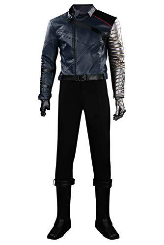Enhopty Disfraz de soldado de invierno, para Halloween, carnaval, cosplay, para hombre, XS