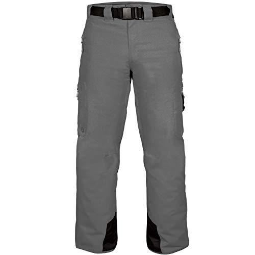 WildHorn Outfitters Men's Outerwear Standard Snow Pants, Graphite, Medium