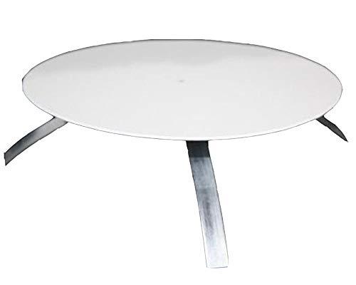 Kaminlochdeckel ø160-180 mm weiß