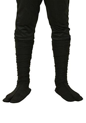 Child Sized Ninja Boots Kid's Split-Toe Ninja Costume Shoes Small