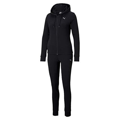 Classic HD. Sweat Suit TR, Tuta Sportiva Donna, PUMA Black, L