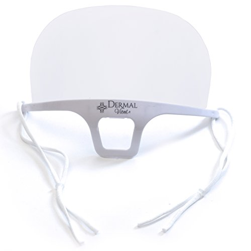 Dermal VitalHygienemaskeAtemschutzmaskeMundschutz Maske KosmetikstudioWimpernliftingMicrobladingTattoo1 Stück weißGröße: 14x10.5cm