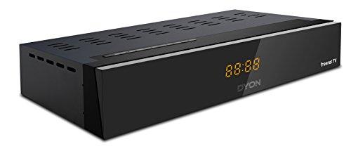 DYON Liberty DVB-T2 HD Receiver mit Irdeto Entschlüsselung (freenet TV, H.265/HEVC, HDMI, USB, LAN) schwarz