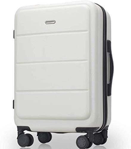 Rueda universal Caja de la carretilla, Deportes Maleta, marco grueso de aluminio, con cierre de equipaje, 20' / 24' , con doble fila de 4 Universal Ruedas Y cerradura de combinación TSA Ruedas de sill