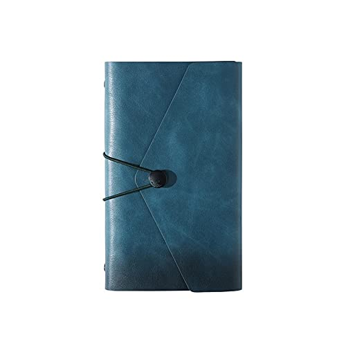 FEANG Bloc de Notas Diario Business Notebook Travel Daily Bloc de Notas Escritura Cuadernos 80 Hojas / 160 Páginas Regalo para la Escuela Hogar y Oficina Diario (Color : D)