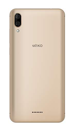 Wiko Y80 Smartphone débloqué 4G (Ecran 5, 99 Pouces - 16 Go - Micro-SIM/Nano-SIM + Emplacement Micro SD pour mémoire Extensible jusqu'à 128Go) Gold