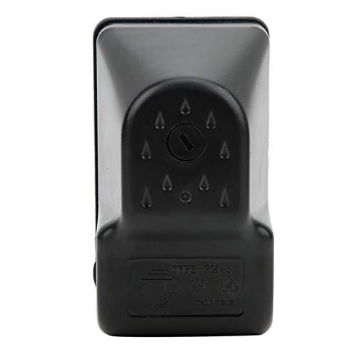 Cerlingwee Controllo della Pompa dell\'Acqua, pressostato della Pompa dell\'Acqua, spegnimento Automatico 1,0-5,0 Bar per Pompe autoadescanti Pompe a Getto