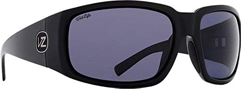 VonZipper Palooka Sunglasses Black Gloss Black Polar Lens