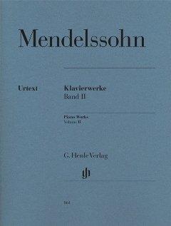 KLAVIERWERKE 2 - arrangiert für Klavier [Noten / Sheetmusic] Komponist: MENDELSSOHN BARTHOLDY FELIX