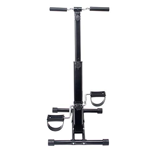 LNDDP Stepper 2 en 1 Dual Exercise Stepper Fitness, Escalada, Movimientos Escalada, Plegable, Multifuncional con diseño Antideslizante y Sistema Plegado