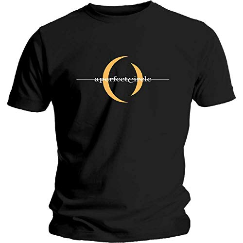 Rock Off A Perfect Circle 'Logo' T-Shirt (Extra Large) Black