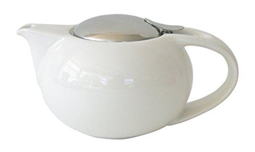 ZEROJAPAN Saturn teapot M 520cc white BBN-17M WH (japan import)
