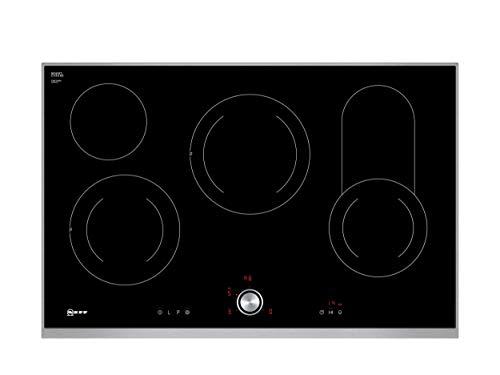 Neff T18TT16N0 Elektrokochfeld N70 / 80cm / TwistPad / Bräterzone / Glaskeramik / Designrahmen