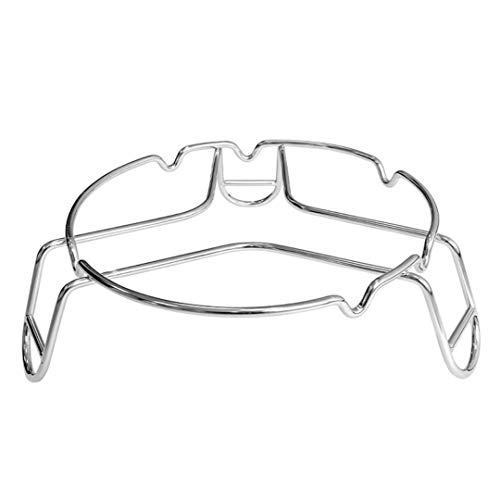 CAMPINGMOON Stainless Steel Camping Trivet Stand for Dutch Oven Dutch Pan Pot MS-69