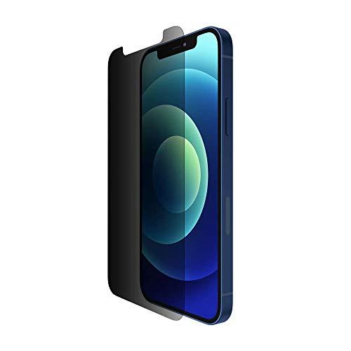 Belkin UltraGlass Privacy Antimicrobico Proteggi Schermo per iPhone 12 Pro Max