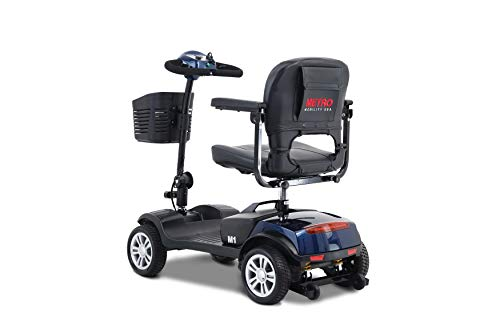 Mobility Scooter with 4 Wheel e Electric Powered Wheelchair for Elderly Adults Travel,Shop Chair...