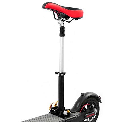 FOLOSAFENAR Sillín de instalación Simple de Varilla de Acero Sillín de Asiento de Scooter Ajustable, para Scooter eléctrico