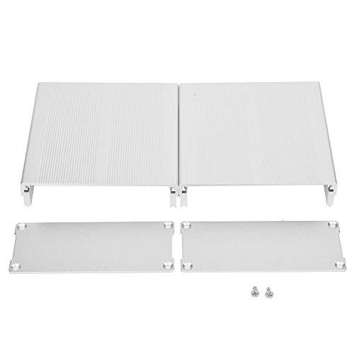 Aluminium Gehäuse Box, Installationsgehäuse PCB Instrumentenkoffer Gehäuse von Aluminiumgehäusen, 40x97x100mm