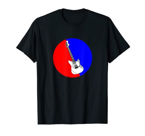 Música - Logotipo de guitarra eléctrica Camiseta