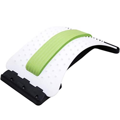 Tbagem-Yjr Cifosis Corrección De Pilates Reformer Máquina De Nuevo El Alivio del Arco Equilibrado, Estiramiento Lumbar (Color : Green)