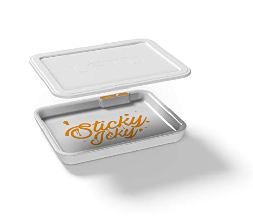 LitTray- Illuminated Rolling Tray & Smellproof Lid