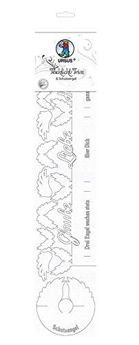 Ursus 6780000 Knutselset, met transparant papier piraten, ca. 20 x 15,3 cm.