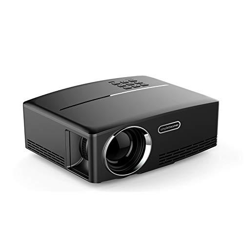 Qucking Light Tragbarer Projektor, Heimprojektor Der Neue Tragbare Projektor GP80 Micro Home HD Projector LED Unterstützt 1080P