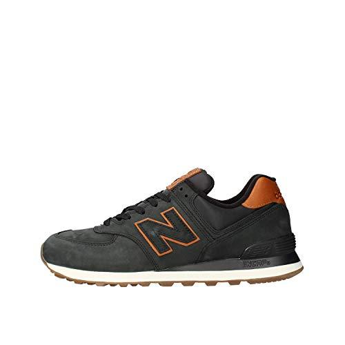 New Balance Mens ML574NBI_46,5 Sneakers, Green, 46.5 EU