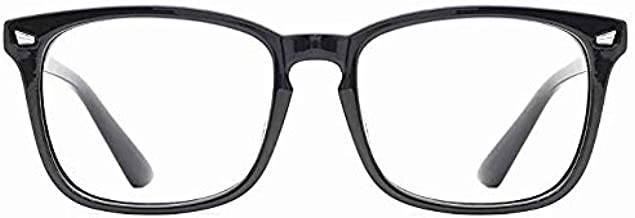 BW Computer Glasses Blue Light Blocking Anti Ray, Unisex, Computer Reading/Gaming/TV/Phones for Women Men, Anti Eyestrain & UV Glare, Long Term usage