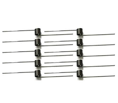 AMZH Ressort de Torsion 10 Pièces - Matériau en Acier Inoxydable - Résistant à l'usure et Durable - Pratique et Pratique - Diamètre extérieur: 5 mm Wire Diameter 0.3mm