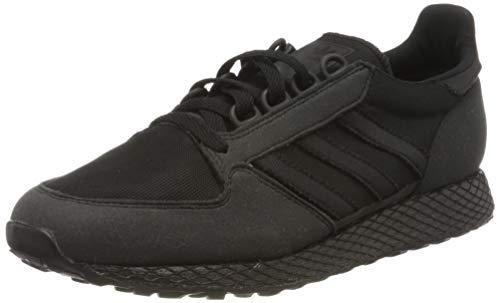 Adidas FOREST GROVE J Zapatillas de deporte Unisex niño, Negro (Negbás/Negbás/Negbás 000), 35.5 EU (3 UK)
