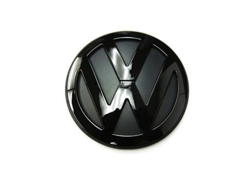autobizpro Kofferraum-Emblem für VW Golf MK4, glänzend, Schwarz