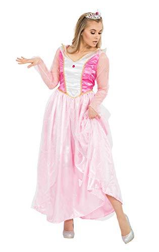 ORION COSTUMES Damen Rosa Märchen Prinzessin Tiara Maskenkostüm