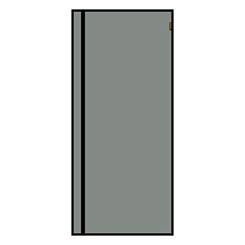 MAGZO Reversible Left Right Side Opening Magnetic Screen Door 36'' x 80'' Black, Fiberglass Walk Through Screen Door Fit Door Size 36'' x 80'' Entry Sliding Glass Screen Mesh Net Curtain Wire