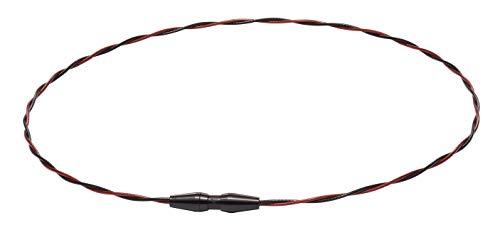 ファイテン(phiten) ネックレス RAKUWAネック ワイヤー EXTREME トルネード ブラック/レッド 50cm
