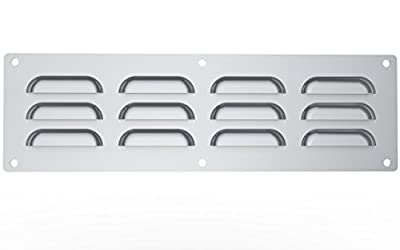 SUNSTONE Vent-S 15-Inch by 4-1/2-Inch Stainless Steel Venting Panel