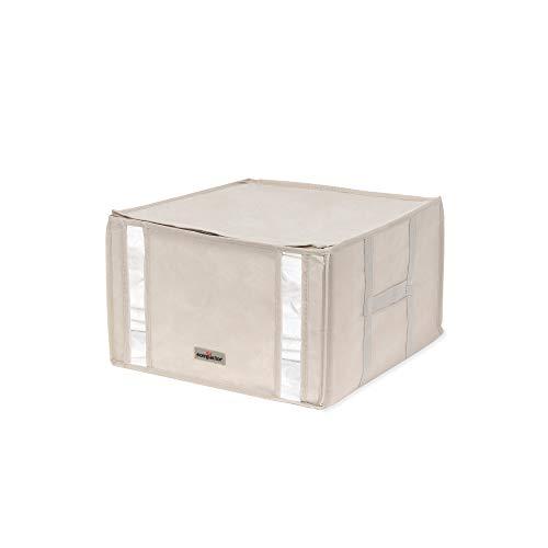 Compactor Housse de Rangement Sous Vide Life 2.0, Taille M, 125L, Dimensions 42 x 40 x H.25 cm, Beige, RAN7651