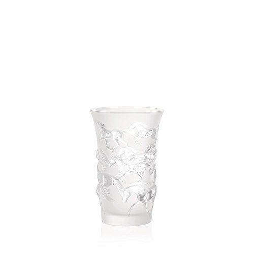 Lalique 12575 Vase Mustang Kristall