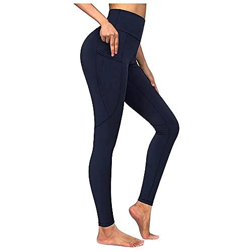 N\P Leggings de cintura sin costuras para mujer, push up, fitness, correr, gimnasio, leggings deportivos